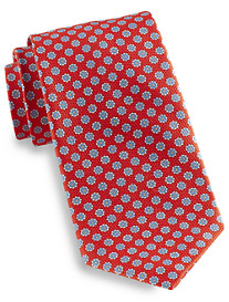 Robert Talbott Best of Class Carmel Floral Dot Silk Tie