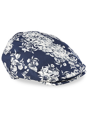 Bailey® of Hollywood Floral Flat Cap - Bailey's of Hollywood