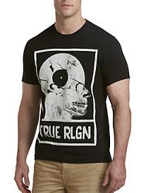 True Religion® Record Skull Tee