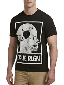 True Religion® Record Skull Tee
