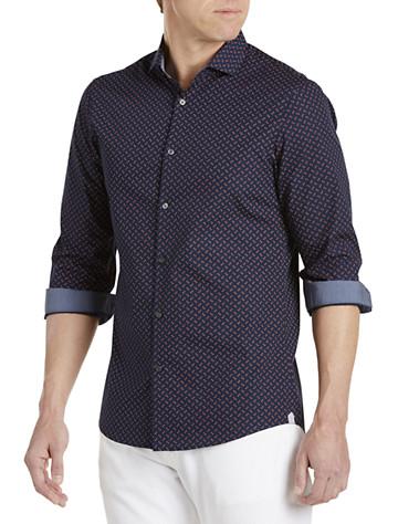 Michael Kors® Cross Print Sport Shirt