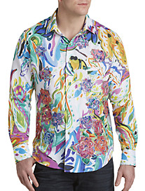 Robert Graham® Limited Edition Floral Embroidered Sport Shirt