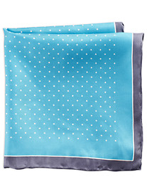 Rochester Dot Silk Pocket Square