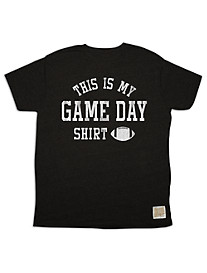Retro Brand Game Day Graphic Tee