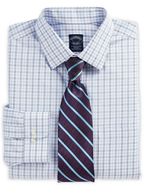 Brooks Brothers® Non-Iron Hairline Check Dress Shirt