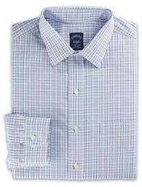 Brooks Brothers® Non-Iron Triple Tattersall Dress Shirt