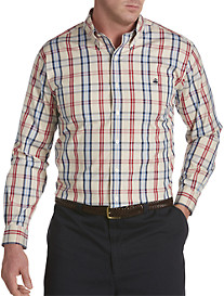 Brooks Brothers® Non-Iron Tartan Pinpoint Oxford Sport Shirt