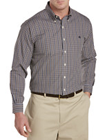 Brooks Brothers® Non-Iron Plaid Pinpoint Sport Shirt