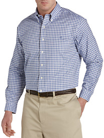 Brooks Brothers® BrooksCool Non-Iron Check Slub Oxford Sport Shirt