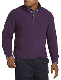 Brooks Brothers® Supima Cotton Piqué Quarter-Zip Sweater