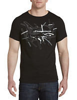Lacoste® Sport Technical Jersey Abstract Croc T-Shirt