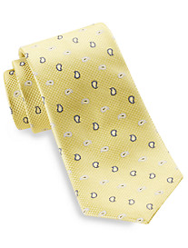 Rochester Small Paisley Medallion Silk Tie
