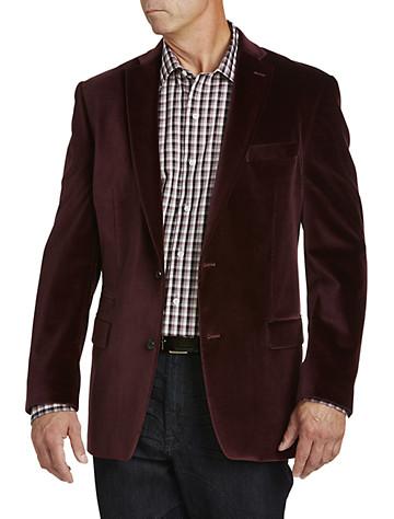 Burgundy Sport Coats from Destination XL