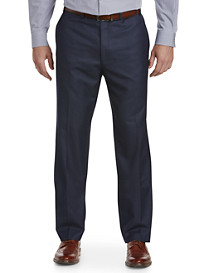 Michael Kors® Herringbone Flat-Front Suit Pants