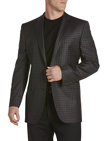 Men's Black Sport Jacket from Destination XL