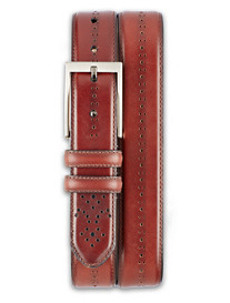 Lejon Chancellor Leather Belt