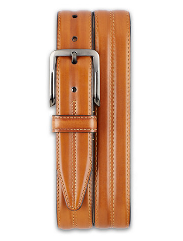 Lejon Center Club Leather Belt