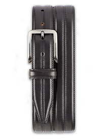 Lejon Center Club Leather Belt