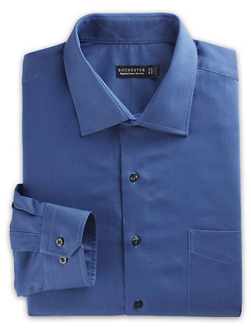 Rochester Non-Iron Honeycomb-Texture Dress Shirt - $89.5