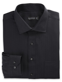 Rochester Non-Iron Herringbone-Weave Dress Shirt