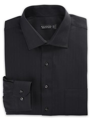 Rochester Non-Iron Herringbone-Weave Dress Shirt - $89.50