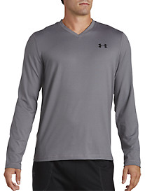 Under Armour® Long-Sleeve V-Neck Tee
