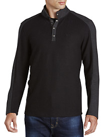 Calvin Klein Sport® Colorblock Mockneck Pullover