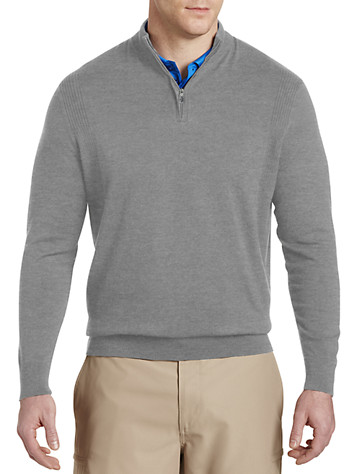 Big & Tall Callaway® Quarter-Zip Sweater
