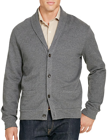 Polo Ralph Lauren® Shawl-Collar Jacquard Fleece Cardigan