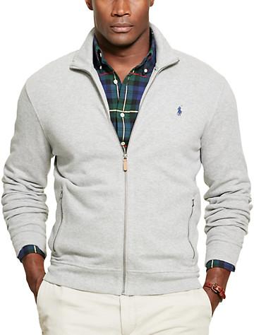 Polo Ralph Lauren® Estate Rib Full-Zip Jacket - ( Long Sleeve Knits )