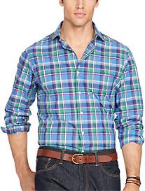 Polo Ralph Lauren® Plaid Poplin Estate Shirt