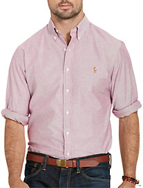 Polo Ralph Lauren® Solid Stretch-Oxford Sport Shirt