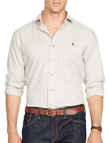 Polo Ralph Lauren® Tattersall Plaid Twill Sport Shirt -  On Sale!