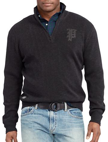 Polo Ralph Lauren® Cotton Half-Zip Sweater