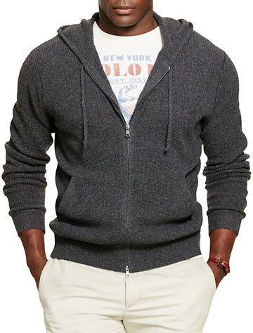 Polo Ralph Lauren® Merino Wool Full-Zip Hoodie