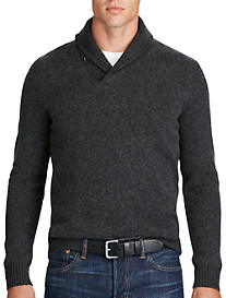 Polo Ralph Lauren® Merino Wool/Cashmere Shawl-Collar Sweater