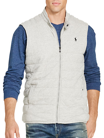 Polo Ralph Lauren® Quilted Jersey Knit Vest | Vests