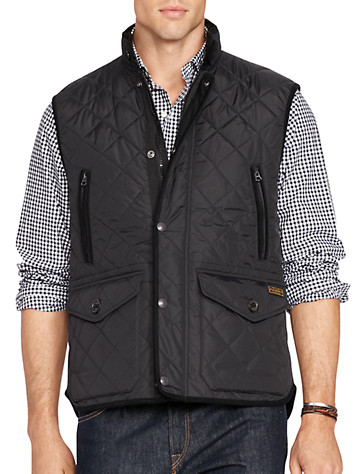 Polo Ralph Lauren® Hexham Diamond-Quilted Vest | Take a Vested Interest