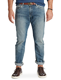 Polo Ralph Lauren® Hampton Straight-Fit Milton Light Wash Jeans