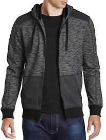 Calvin Klein Jeans® Cross-Dyed Full-Zip Hoodie