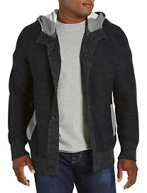 Calvin Klein Jeans® French Terry Hooded Cardigan