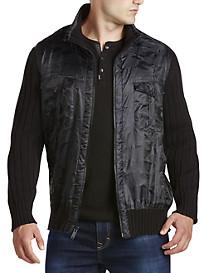 Calvin Klein Jeans® Full-Zip Cargo Sweater Jacket