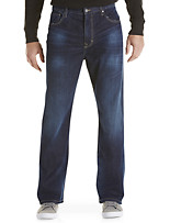 Calvin Klein Jeans® Relaxed Straight Fit Jeans – Deep Water Wash