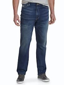 Lucky Brand® La Quinta Medium Wash Distressed Jeans – Straight 329 Fit