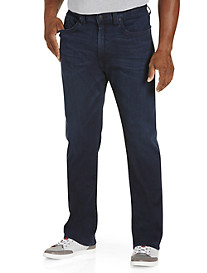 True Religion® Super Stretch Ricky Straight Jeans - Dark Passage Wash