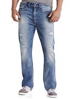 True Religion® Ricky Straight Jeans – Worn Streets Wash