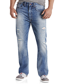 True Religion® Ricky Straight Jeans – Worn Streets Wash