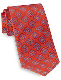 Robert Talbott Best of Class Diamond Medallion Silk Tie