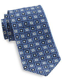 Robert Talbott Square Medallion Silk Tie