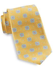 Robert Talbott Floral Medallion Silk Tie